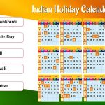 Indian Calendar 2019 With holidays And Festival