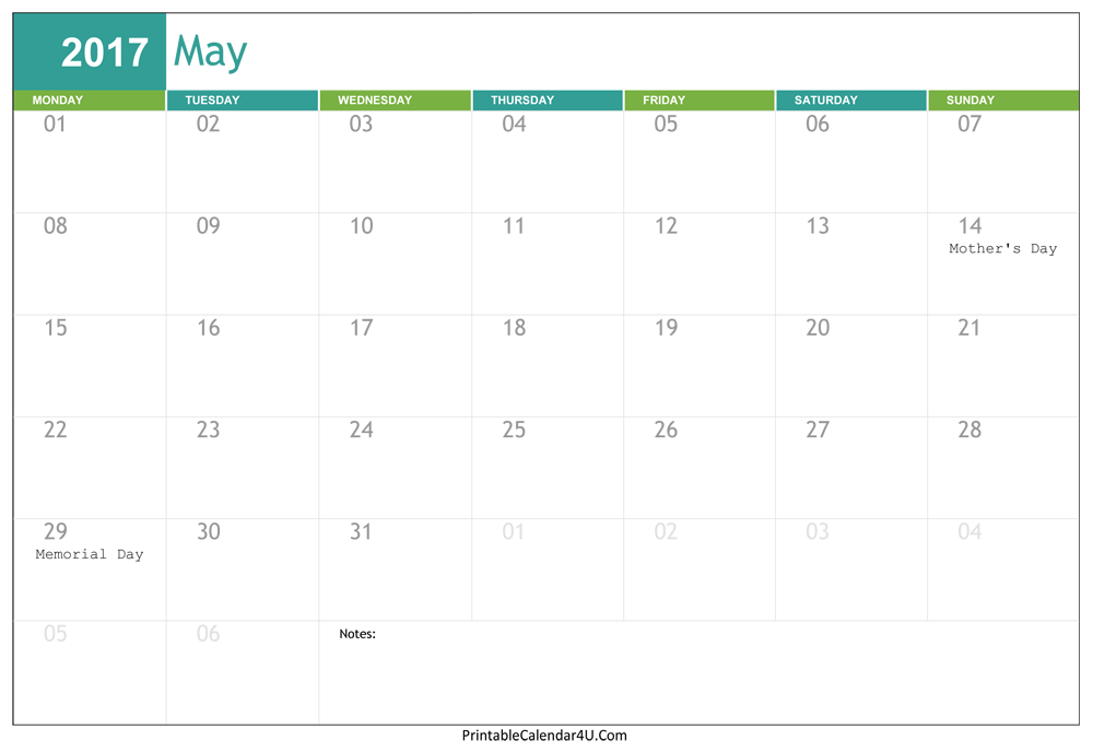 download calendar for word