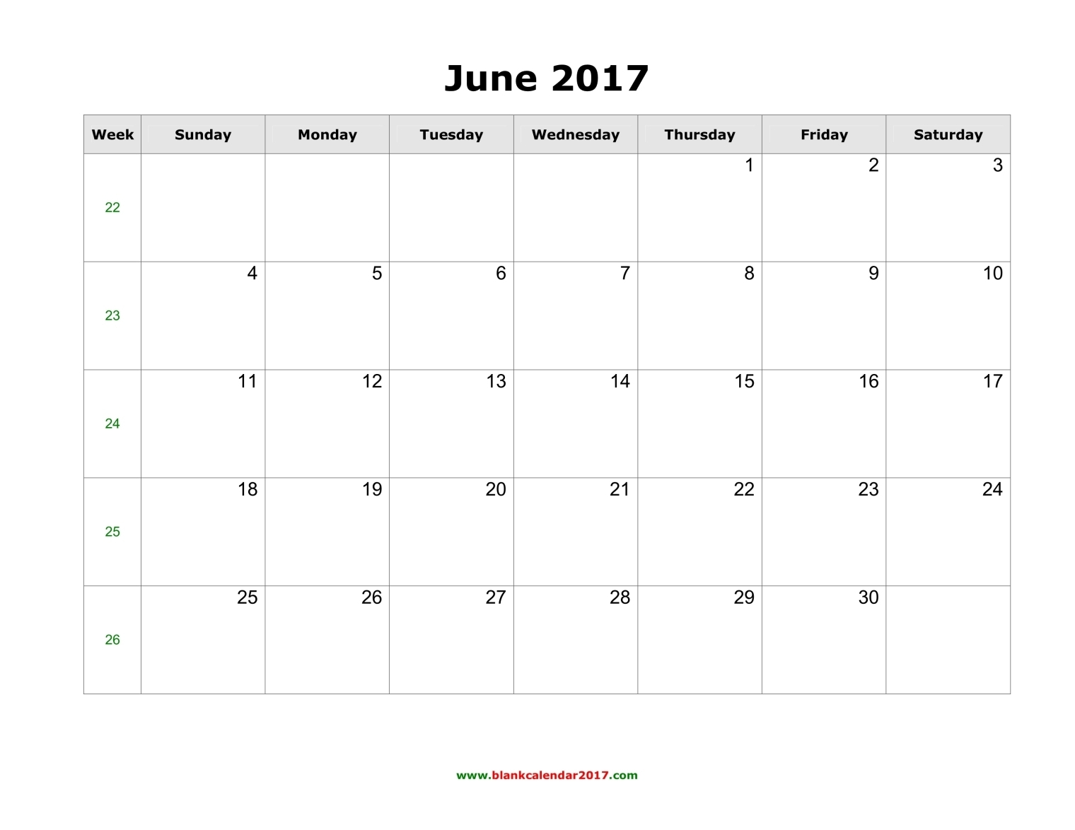 june 2017 printable calendar with holidays