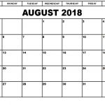 August 2018 Calendar with Holidays – August 2018 Holidays USA UK Canada India