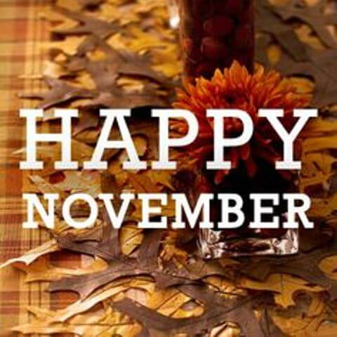 Happy November Images Wallpapers Photos Tumblr Pinterest Facebook