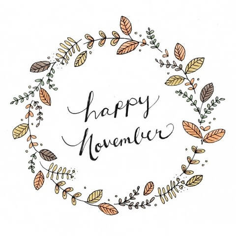 Happy November Images Sweetie