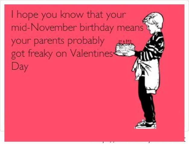 November Birthday Funny Quotes