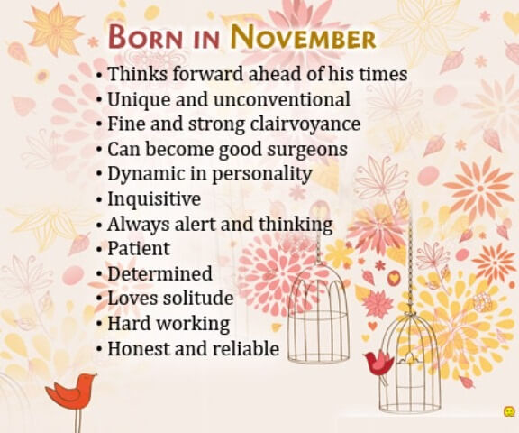 November Birthday Images Quotes