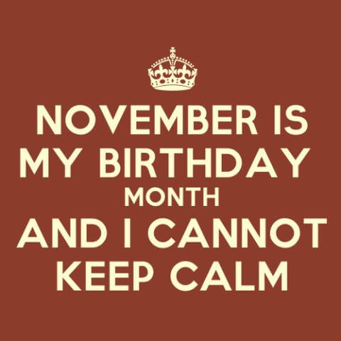 November Birthday Quotes Tumblr