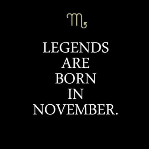 November Birthday Quotes WhatsApp