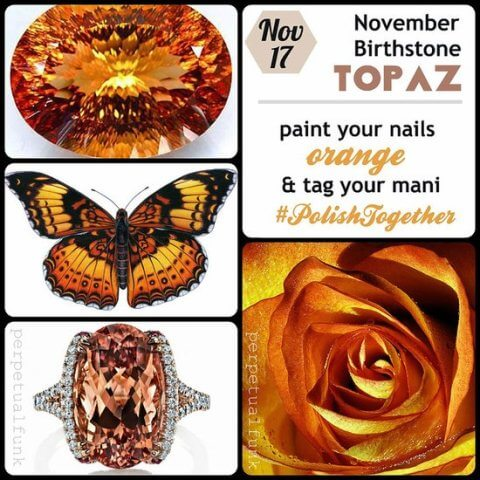 November Birthstone Color and Meaning
