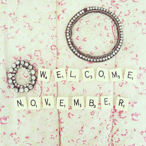 Welcome November Background Images