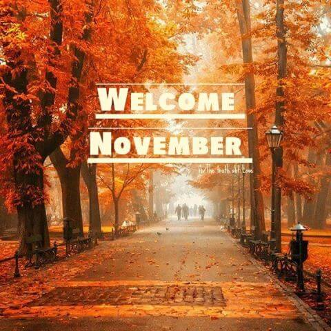 Welcome November Images Download