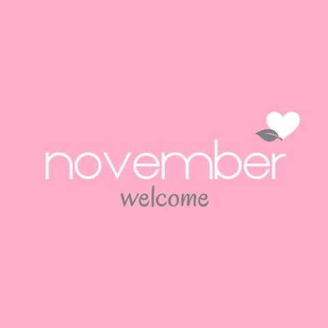 Welcome November Images Facebook