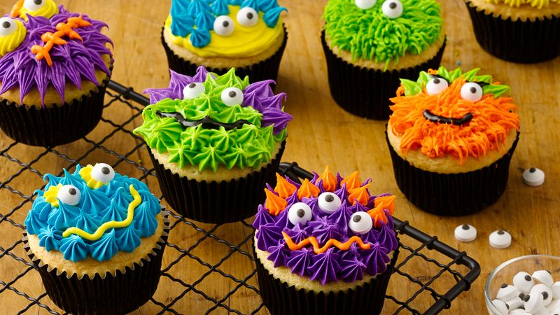 Scary Halloween Cupcakes Pictures