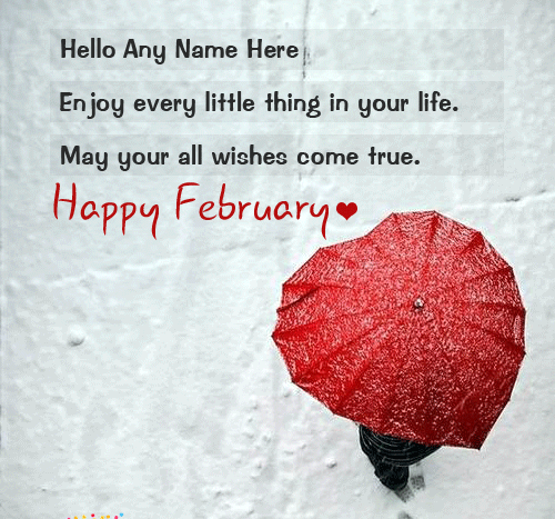 Happy February Wishes