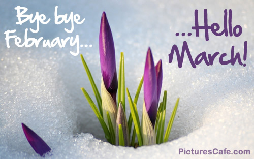 Image result for Welcome to MArch