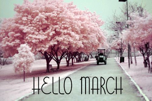 Hello March Instagram Pictures