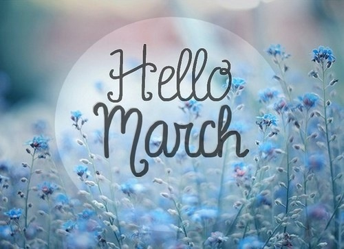 Hello March Images Pictures