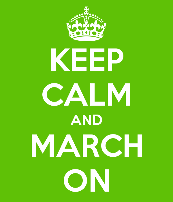 March On Pinterest