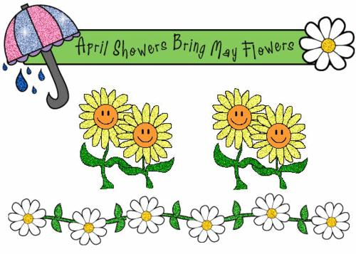 April Showers Bring May Flower