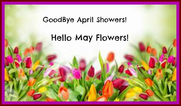 Goodbye April Hello May Flowers