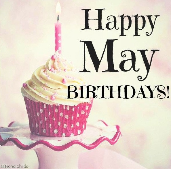 Happy Birthday May Month God Bless You