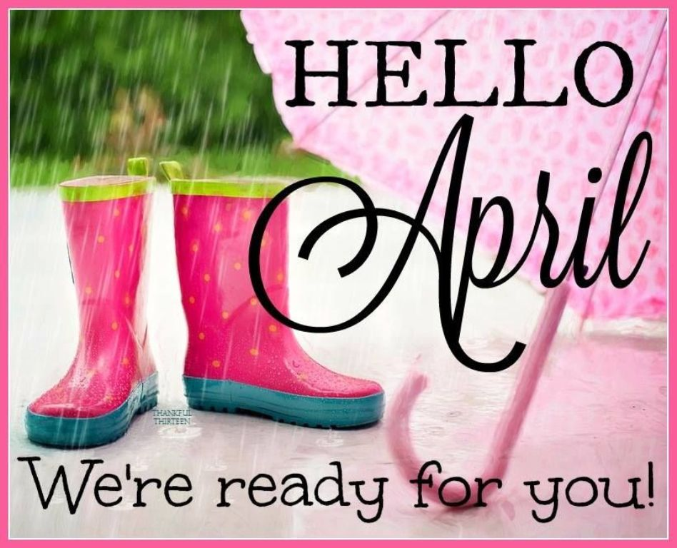 Hello April Quotes and Status