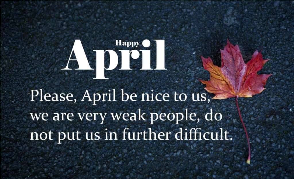 Hello April Quotes and Wishes