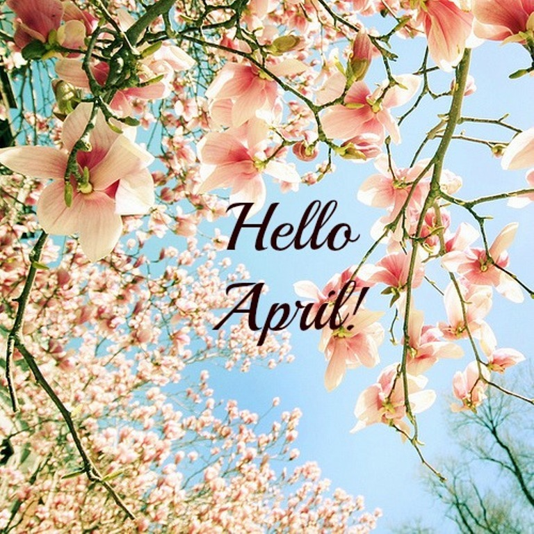 Hello April Wishes Message