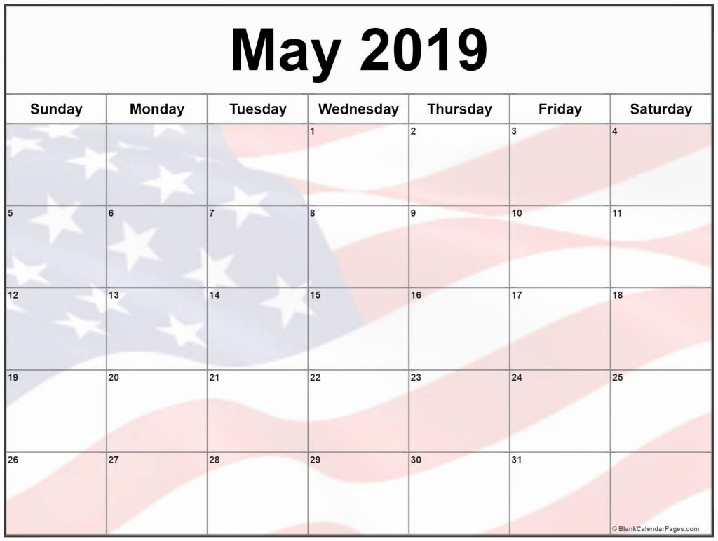 USA Holidays For May 2019