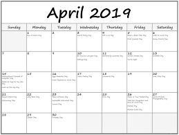 april 2019 calendar with holidays malaysia