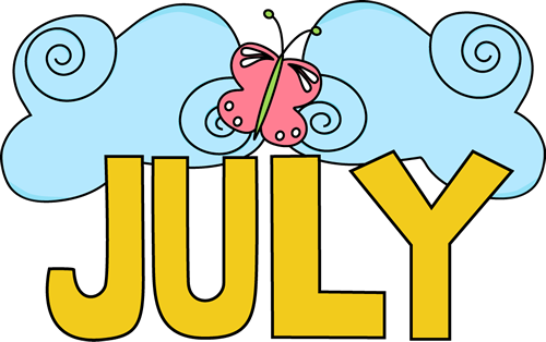 Best July Clip Art for Facebook