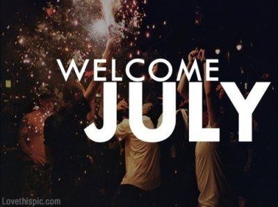 Welcome July Images Background
