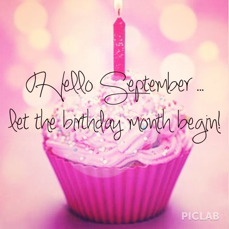 September Birthday Images