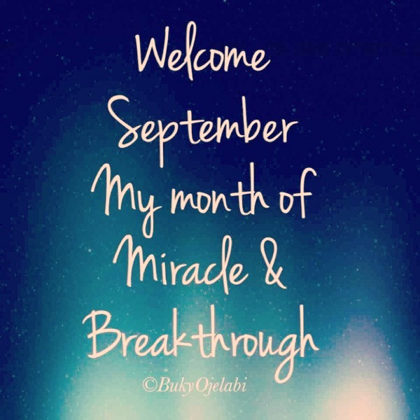 Welcome September Images With Quotes