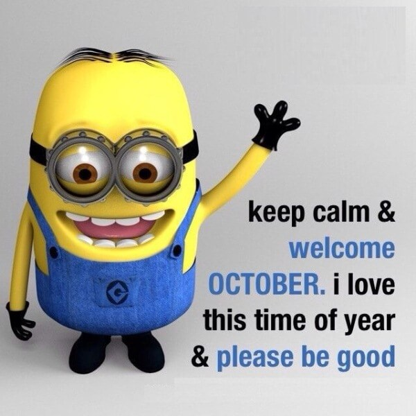 Welcome October Month Quotes