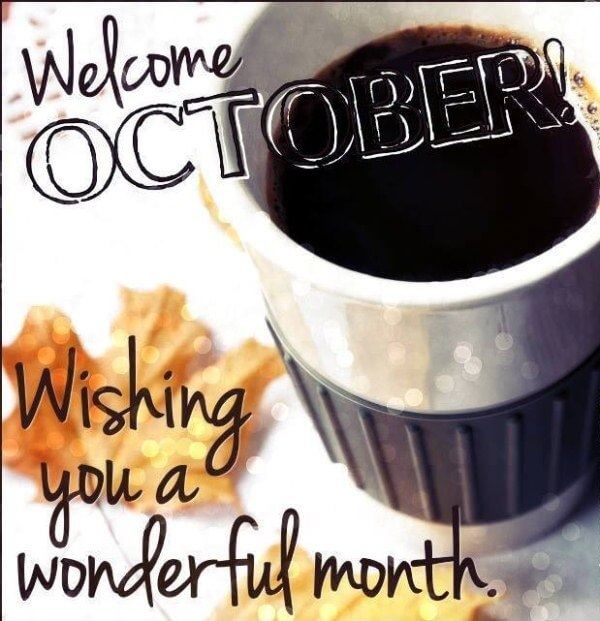 Welcome October Pics