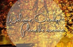Welcome October Quotes Pinterest