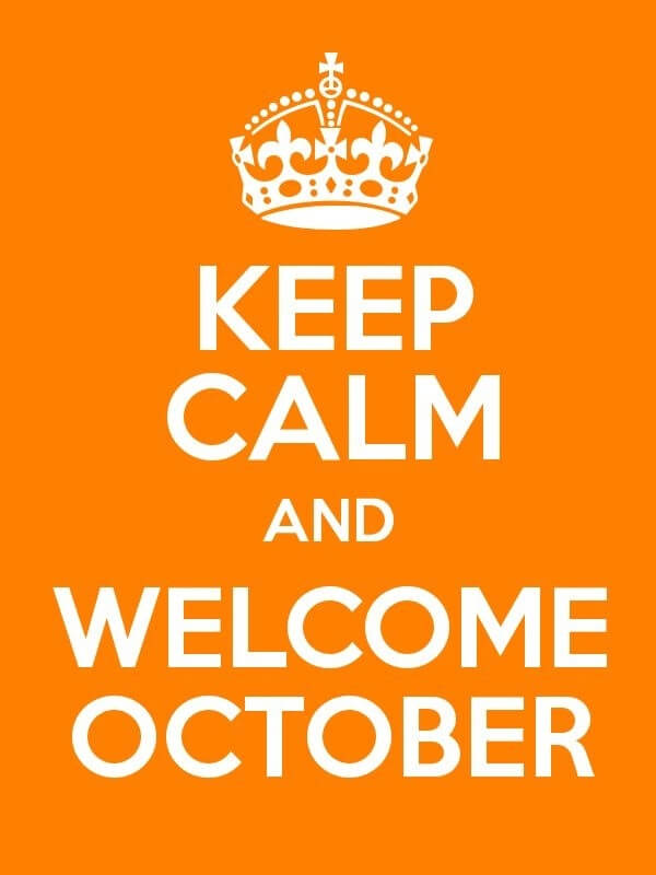 Welcome October WhatsApp Quotes