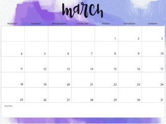March Calendar Archives Free Printable 2019 Calendar Blank
