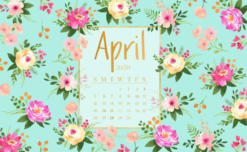 April 2020 Calendar Wallpaper For Desktop Iphone Laptop