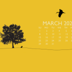 March 2020 Calendar Wallpaper For Desktop, Laptop, iPhone